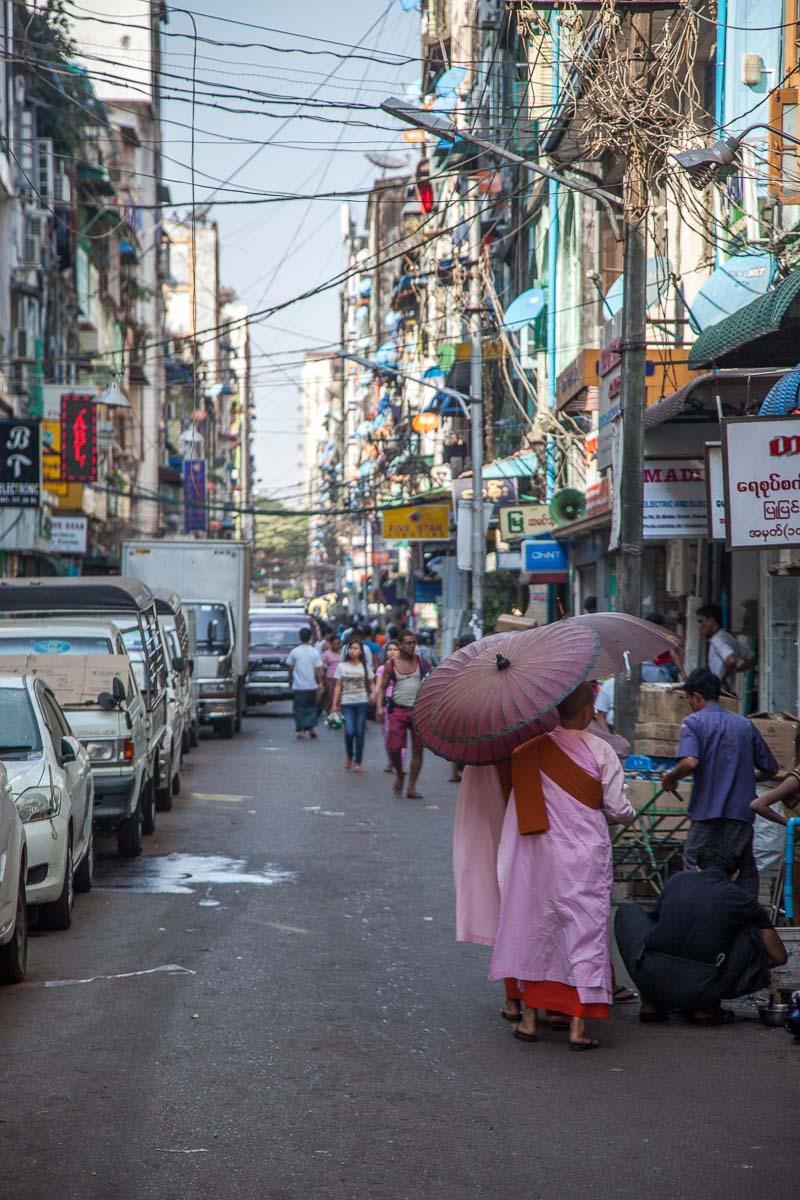 Drawn to Travel - Myanmar (Yangon)