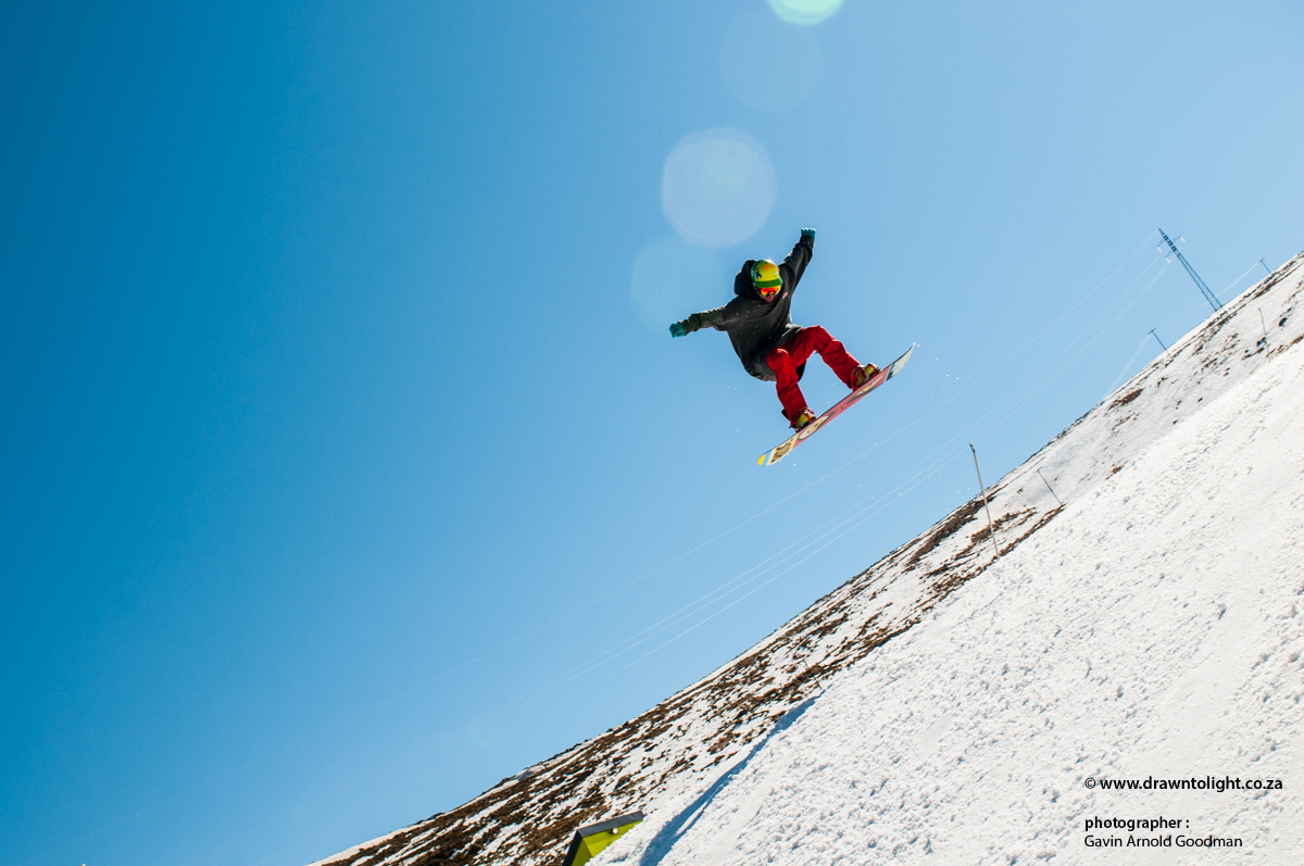 Drawn to Action Sports - Snow Boarding