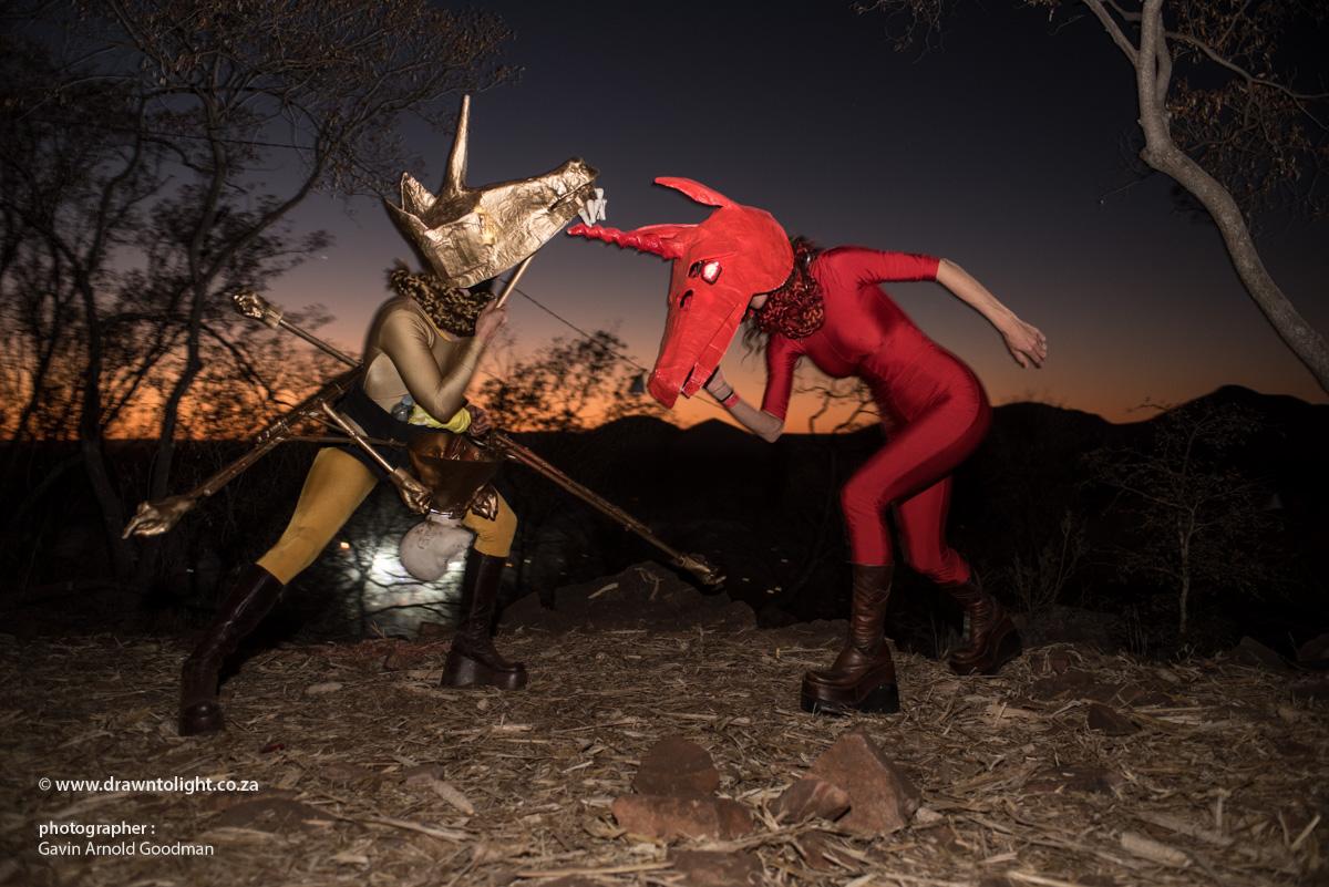 "Drawn to Performance Art - gRRR Kollective - ""Save The Unicorns"""
