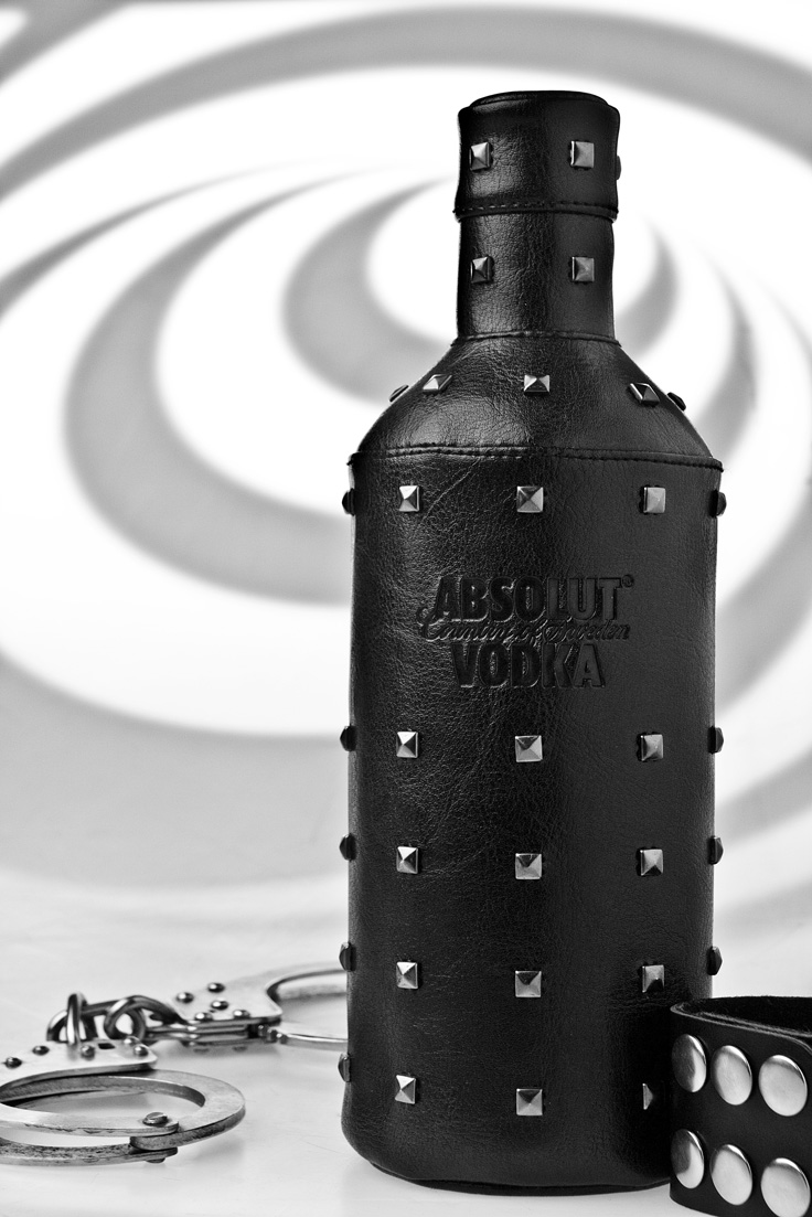 Drawn to Product Photography - Absolute Vodka