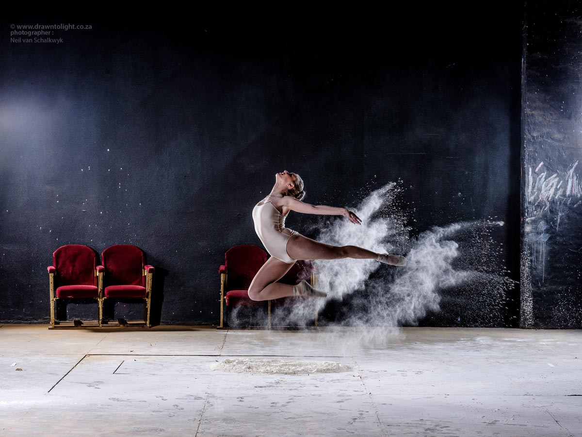 Drawn to Movement - Flour Power (Dancing Shoot for Fuji GFX Test)