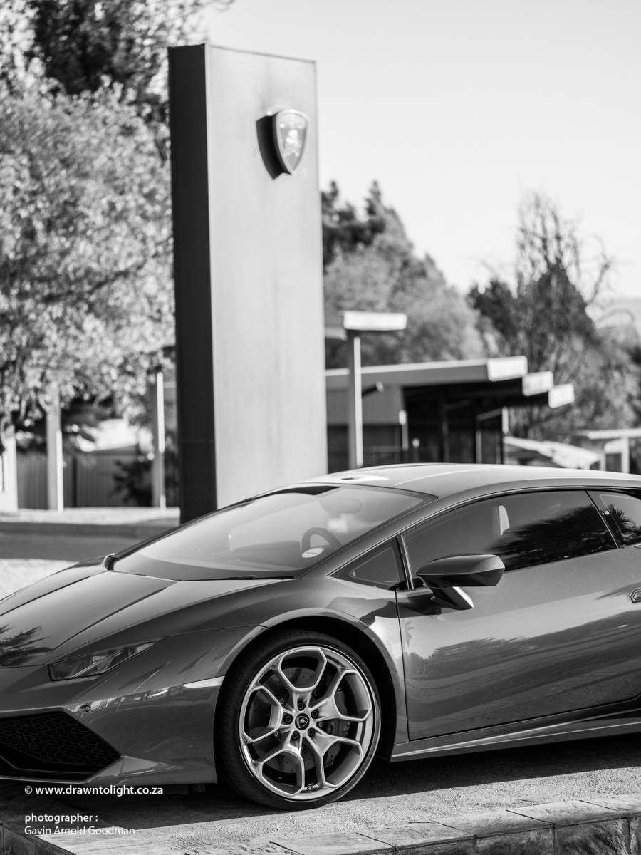 Drawn to excellence - Lamborghini