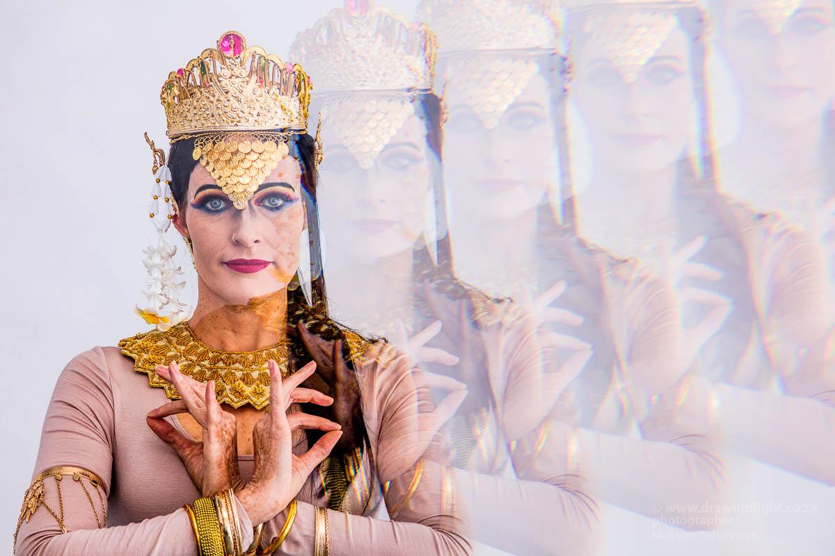 Drawn to Culture - Apsara Dance inspired shoot